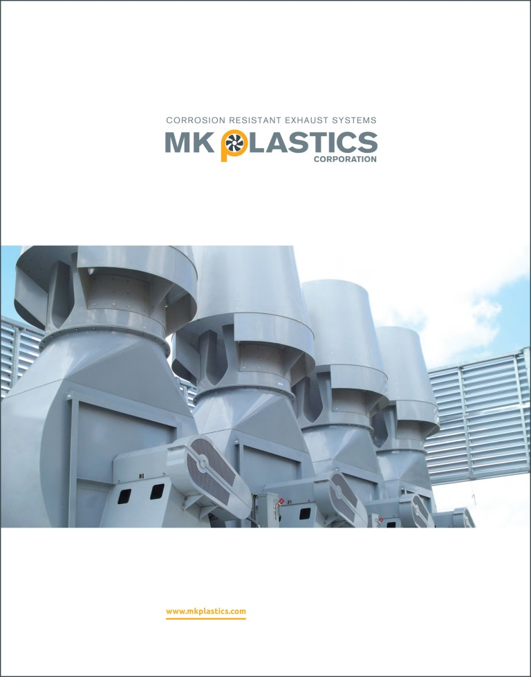 Cover - M.K. Plastics Corporate Brochure