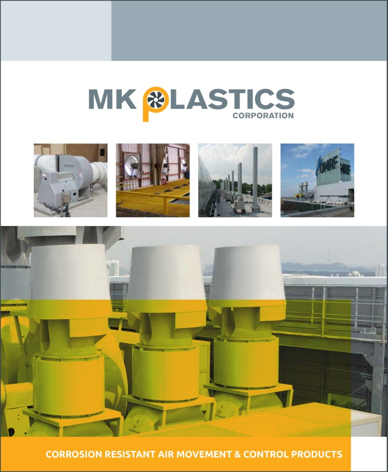 Cover - M.K. Plastics Corrosion Resistant Air Movement  Control Products